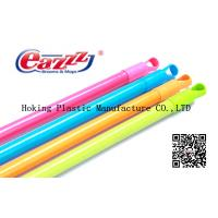 Wholesale PVC Coated Wood Broom Handle American Thread , Broom long handled from china suppliers