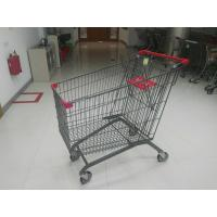Buy cheap Supermarket 270L European Design Steel Shopping Carts With PPG Powder from wholesalers
