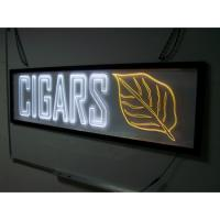 Wholesale acrylic material logo sign light box sign board from china suppliers