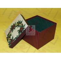 Wholesale Candle Paper Foldable Gift Boxes / Shirt Gift Boxes Silk Screen from china suppliers
