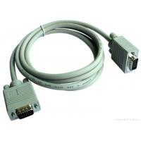 Wholesale 10m Ohms Monitor VGA Cable , VGA Cable To VGA Cable Double Shielded from china suppliers