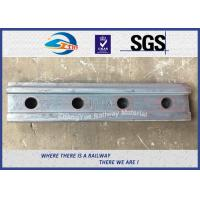 Wholesale High Tensile Railway Fish Plate For BS80A Steel Rail Standard Joint Bar 45# from china suppliers