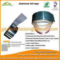 Wholesale aluminum foil tape/foil adhesive tape from china suppliers