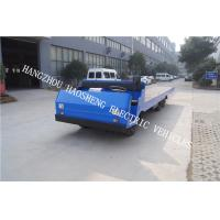 Buy cheap No Emissions Electric Platform Truck , Electric Tow Truck Flexible Braking from wholesalers
