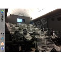 Wholesale Genuine Leather / Fiberglass 7D Cinema System , Special Effect System 60 Movie Chairs from china suppliers