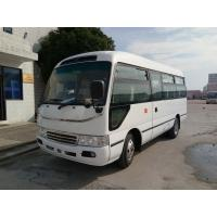 Buy cheap Star Travel Buses Big Passenger Coaster Bus Durable Red  With 19 Seats Capacity from wholesalers