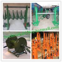 Wholesale Bazhou factory Hydraulic Cable Jack Set,Asia Cable Drum Screw Jack from china suppliers