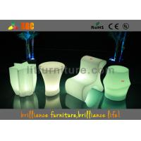 Wholesale Hotels Led Cube Chair With Wireless Remote Control And CE , ROHS ,UL from china suppliers