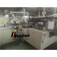 Wholesale Flat Tissue Paper Box Packing Machine Speed 30-80 Box/Min Glue System from china suppliers