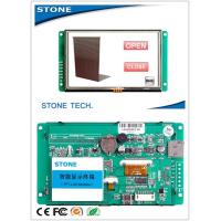 Wholesale Resistive Touch Screen COMS LCD Video Display 70 Degree Viewing Angle from china suppliers