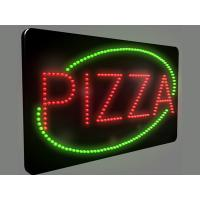 Wholesale 560x330mm business advertising flashing led illuminated sign from china suppliers