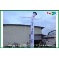 Wholesale Customized Advertising Snowman Inflatable Air Dancer / Waving Man For Festival from china suppliers