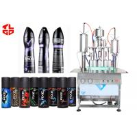 Wholesale Pneumatic Aerosol Can Filling Equipment For Body Spray Aerosol Fillers from china suppliers