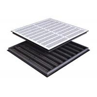 Buy cheap Dust Workshop Raised Computer Floor Panels Wearability With SPCC Hard Steel from wholesalers