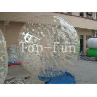 Wholesale Outdoor Clear Inflatable Zorbing Ball / Big Glass Balls With 1 Year Warranty from china suppliers