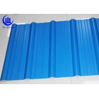 Wholesale Excellent Corrosion Resistanc PVC Blue Corrugated Plastic Roofing Sheets 1130mm from china suppliers
