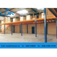 Wholesale Metal Frame Structural Mezzanine Floors Platform For Industrial Warehouse from china suppliers