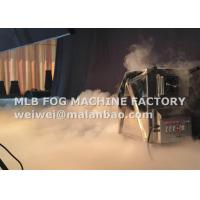 Wholesale Indoor / Outdoor Stage Ground Hot Water / Dry Ice Machine MLB DIM-6000 from china suppliers