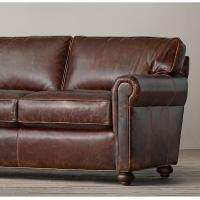 Wholesale High end living room with brown leather sofa , room and board leather sofa from china suppliers