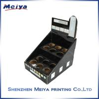 Wholesale CMYK Cardboard counter display stands for lipsticks or perfumns from china suppliers