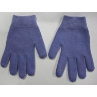 Wholesale Youth Gel Moisturizing Gloves Spa Gel Filled Blue Cotton Gloves For Moisturizing Hands from china suppliers