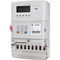 Quality Three Phase STS Keypad Prepaid Meters With Bs Mounting  GPRS Communication for sale