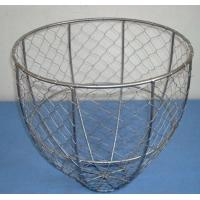 Wholesale Hot dipped galvanized wire oyster basket,galvanized wire clam basket,factory price from china suppliers