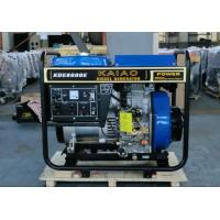 Wholesale 60hz 6kva 3600rpm Open Frame Diesel Generators Recoil Starter For Factory / Construction from china suppliers