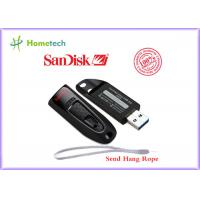 Wholesale 100% Original SanDisk CZ48 USB 3.0 Flash Drive 64gb With Password Protection , Black Color from china suppliers