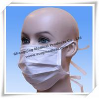Wholesale Surgical Non - woven Medical Face Mask 3 layer Earloop / Back Tied from china suppliers