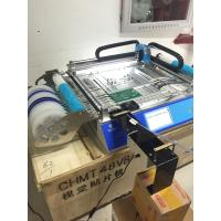 Quality Dual side Feeder CHMT48VB Desktop Pick and Place Machine , surface mounting machine for sale
