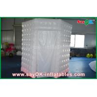 Wholesale PVC Coated Inflatable Octagon Mobile Photo Booth Tent With LED Lighting from china suppliers