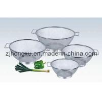 Wholesale Stainless Steel Double Ear Net Basket (HXW-003) from china suppliers