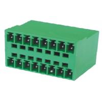 Wholesale Communications Electrical Terminal Block Connectors 3.5mm 2*8P 180° from china suppliers