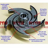 Wholesale Goulds 3196 ANSI Chemical Pump Process Pump Impeller Full Open CF8M 3X4-8G from china suppliers