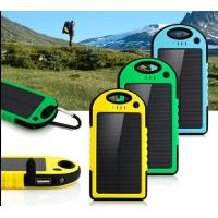 Wholesale 4000mah Dual USB Solar Power Bank Charger External Battery Pack from china suppliers