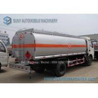 Quality Dong Feng Fuel Tanker Truck Oil Tank Trailer 70000 L Carbon Steel for sale