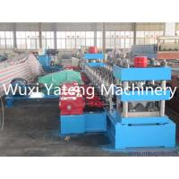 Wholesale Hydraulic Punching Metal Beam Guard Rail Roll Forming Machine For Galvanized Steel from china suppliers