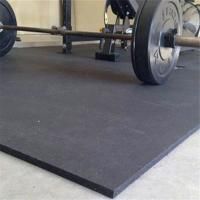 Wholesale Anti-slip recycled sound insulation cost-effective rubber floor roll rubber mat for gym from china suppliers