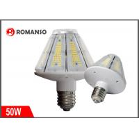 Quality 50 Watt E26 LED Corn COB Bulb 7500LM 360 Degree for Metal Halide HID HPS Replacement for sale