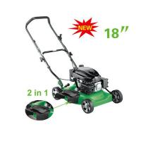 Wholesale 2 in 1  18 inch  Gasoline lawn mower , push lawn mower machine grass trimmer from china suppliers