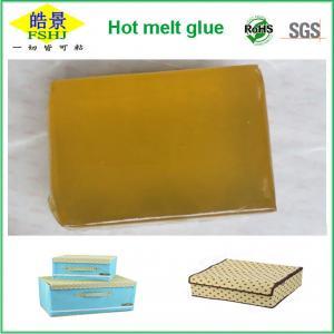 Wholesale EVA Hot Melt Pressure Sensitive Adhesive Glue , Perfect Paper Binding Glue from china suppliers