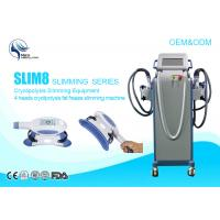 Wholesale Anti - Puffiness Cryolipolysis Fat Freezing Machine 4 Handles Cellulite Removal Machine from china suppliers