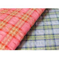 Wholesale Comfortable Yarn Dyed Cotton Seersucker Fabric Cloth For Umbrella from china suppliers
