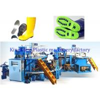 Wholesale Safety Shoe Injection Molding Machine , Women Rain Boot Shoe Making Equipment from china suppliers