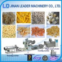 Wholesale Small scale pellet frying food processing single screw extruder machine from china suppliers