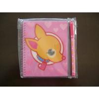 Wholesale Customized two elastic rope file folder Lenticular Notebook from china suppliers