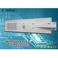 Wholesale 60W Solar Powered Infrared Motion Sensor Street Lights With Solar Panel 70W from china suppliers
