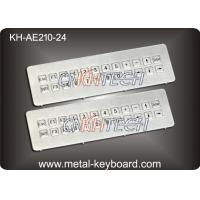 Quality IP65 Waterproof Mountable Stainless Steel Industrial Keyboard with 24 Keys for sale