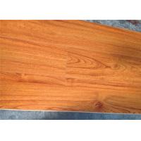 Wholesale 8mm Laminate Flooring Bathroom Waterproof Teak High glossy Foam Attached 3002 from china suppliers
